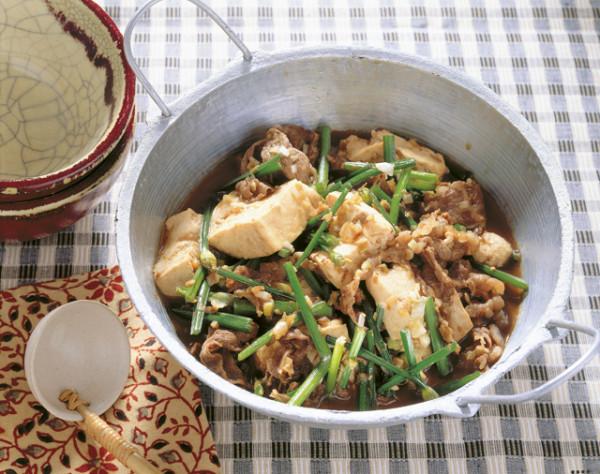 豆腐の実力 中華風肉豆腐