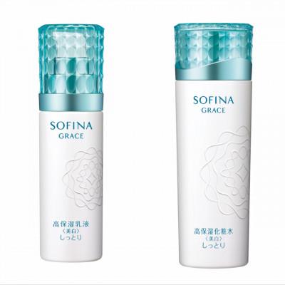 花王ソフィーナ ソフィーナグレイス高保湿化粧水<美白>と高保湿乳液<美白>のセット
