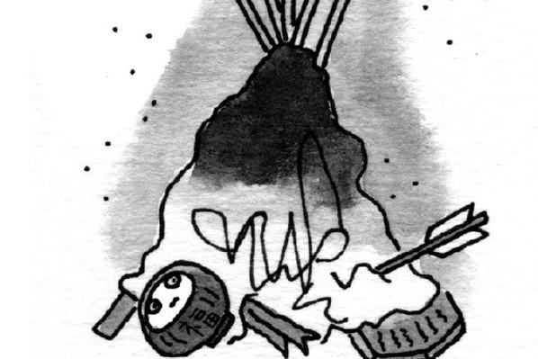 四季とつきあうための「習わし」/しきたり4:お正月のあと始末は松送りやどんどの火に燃やす