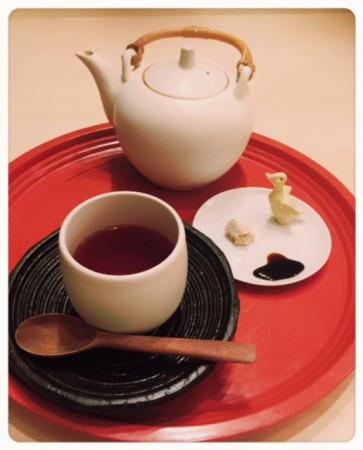 樫出さん 梅醤番茶