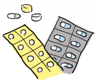 薬の増量や減量が簡単なのが長所。胃腸や肝臓の機能が低下している人には不向き