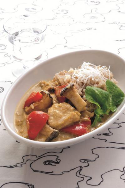 免疫力レシピ37:チキンとココナッツミルクのカレー