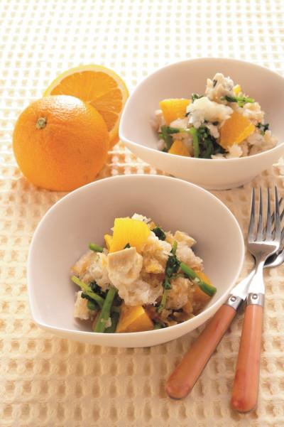 レシピ30:オレンジのおろし和え