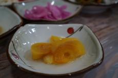 井原さん 柿のキムチ