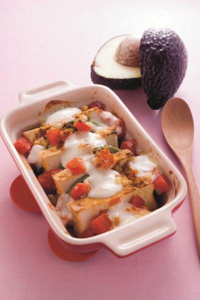 レシピ31:アボカドのチーズ焼き