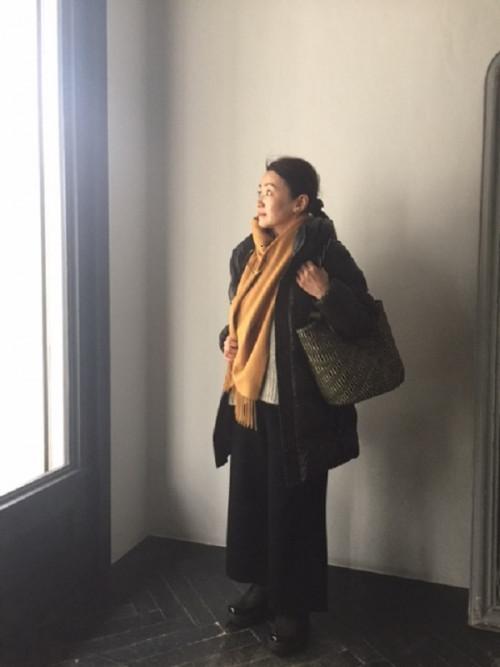 小林一美さん 冬服