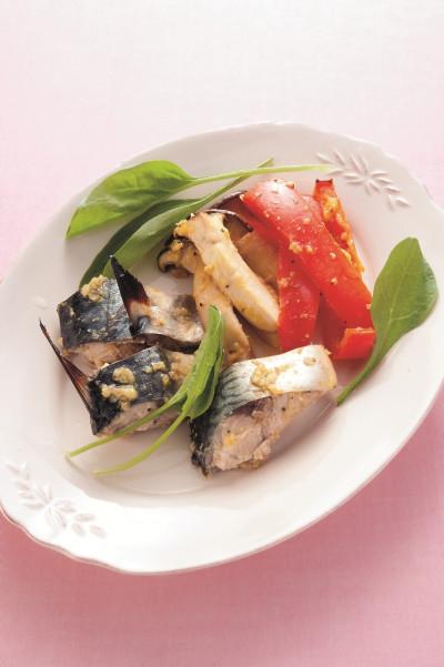 免疫力レシピ53:鯖の麹ジャムスパイス