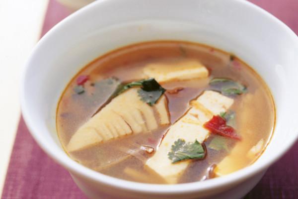 豆腐の実力 酸辣湯