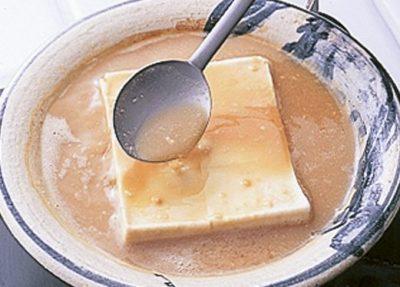 豆腐の実力 味を含ませる