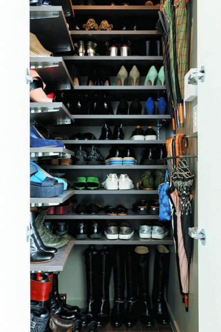インテリア 靴と傘
