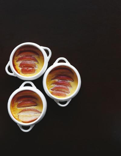 低糖質スイーツ 手作り りんごのプディング