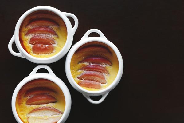 おいしい!低糖質スイーツ/簡単手作り①「りんごのプディング」