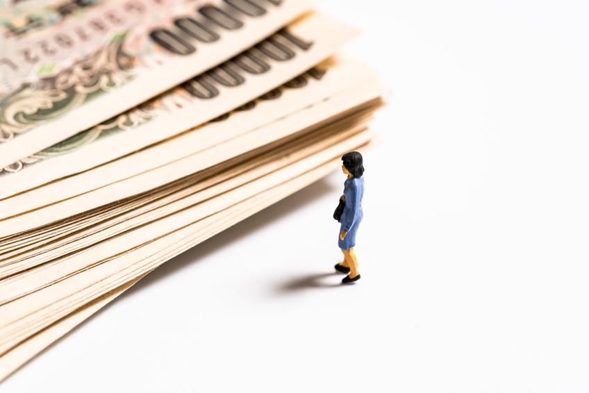 女性, 一万円札
