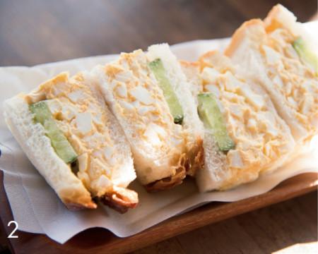 横森さんスペシャル 岡本屋売店 サンドイッチ