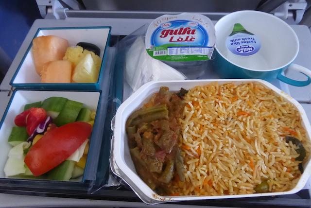 スリランカ航空food