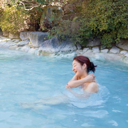 横森さんスペシャル 岡本屋旅館 露天風呂