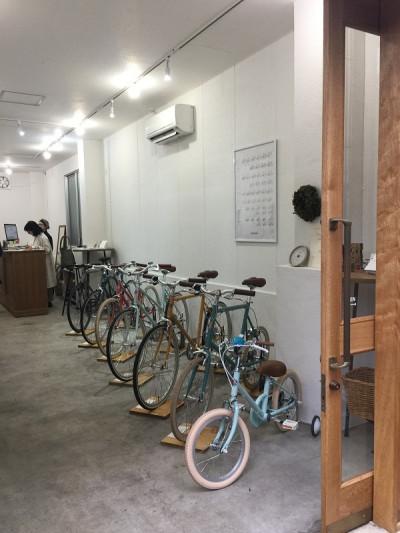 小林さん 自転車カラー