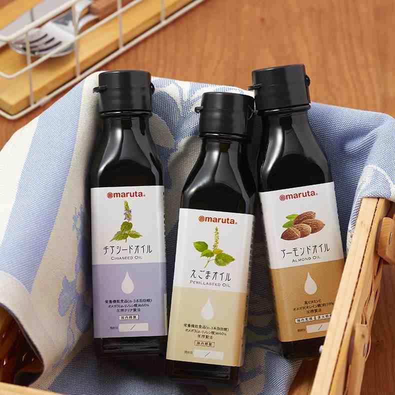 太田油脂 maruta「プレミアムセレクトオイルギフト PSO-42 (えごまオイル、アーモンドオイル、チアシードオイルのセット)」