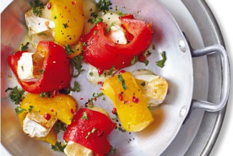 タンパク質たっぷり!パワーサラダ⑰/作りおきマリネでカマンベールチーズ焼き