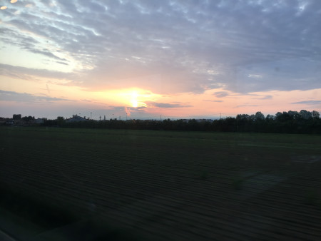 井原さん 田園風景