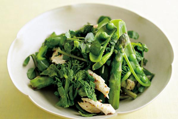 ウー・ウェンさんの素材を生かすシンプルサラダ① ごちそうグリーンサラダ【from eclat】