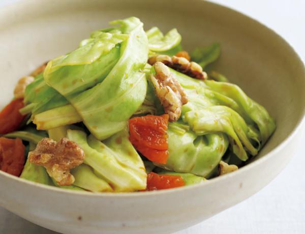 eclat春サラダ キャベツと杏のサラダ