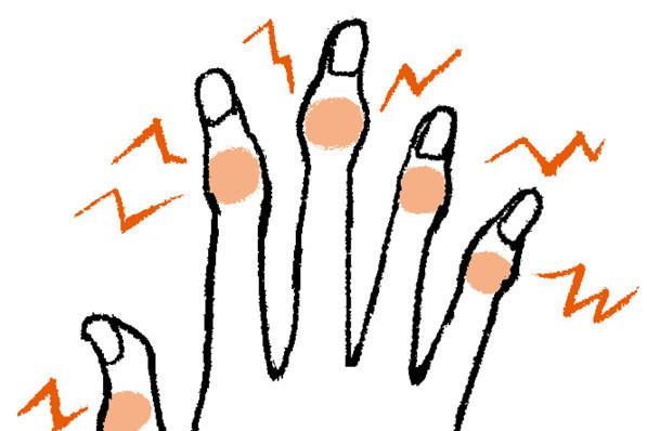 手の不調の症状と対策/前編