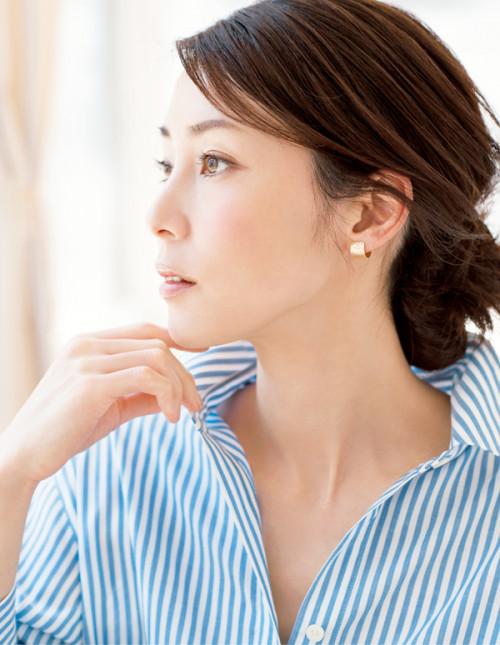 藤原さん モデル 横顔