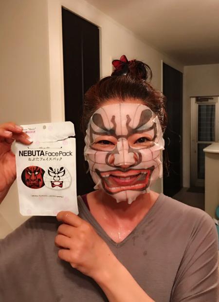 横森さん シートマスクの横森さん