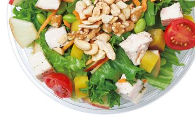 「食」のトレンド10 サラダ専門店