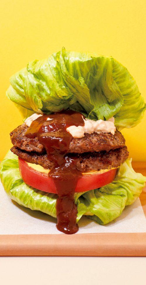 「食」のトレンド10 国産牛100%イーエーティーバーガーダブル