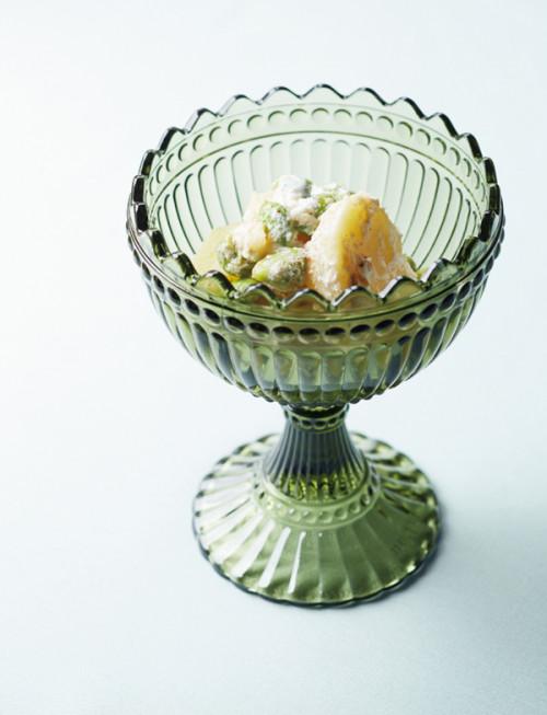 「食」のトレンド10 新じゃがいもと枝豆の ヨーグルトクリームあえ