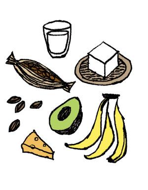 更年期世代の睡眠 睡眠の質 トリプトファンを含む食品