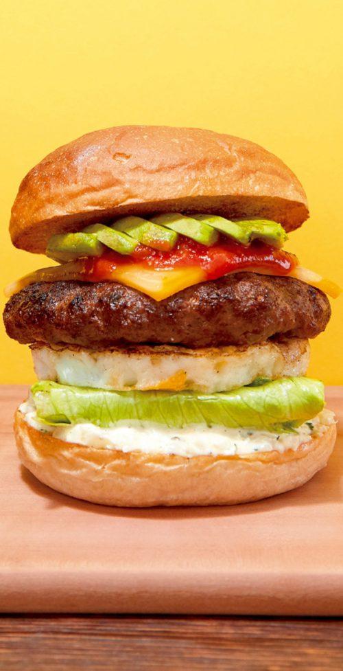 「食」のトレンド10 糖質制限バーガー