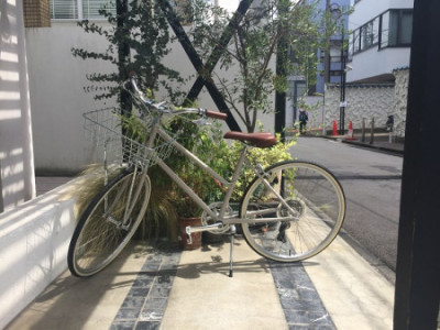 小林さん 自転車
