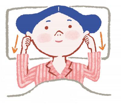 更年期世代の睡眠 すっきり起きられない 耳を引っ張る