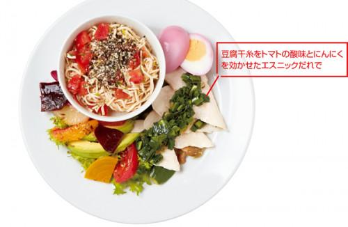 「食」のトレンド10 カスタムヌードル&2デリプレート