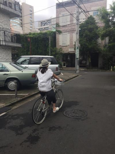 小林さん 自転車乗り
