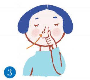 更年期世代の睡眠 途中で起きる 片鼻呼吸3