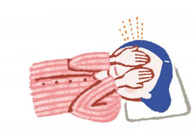 更年期世代の睡眠 途中で起きる 目を温める