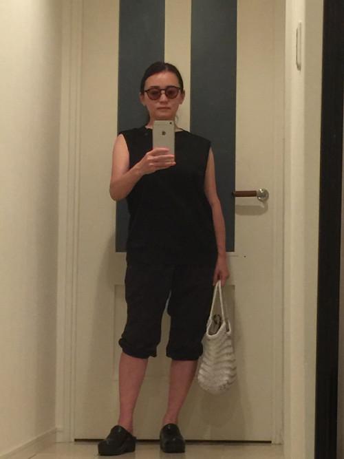 小林さん 体育館ファッション