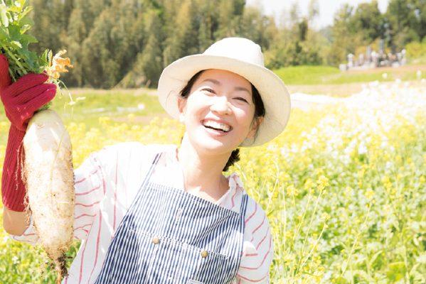 羽田美智子さん/パワーのある野菜から今の時代を生きる術を学ぶ②