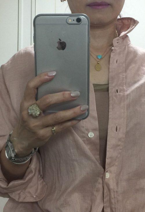 小林さん ピンクシャツアップ