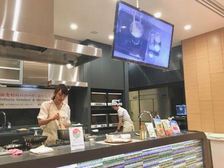 韓国スーパーフード 調理中