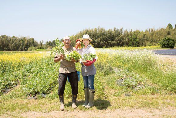 羽田美智子さん/パワーのある野菜から今の時代を生きる術を学ぶ①
