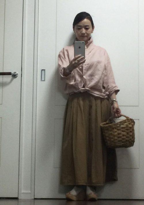 小林さん ピンクシャツ