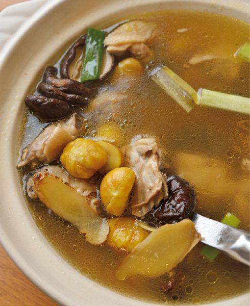 関子嶺温泉 養生スープ