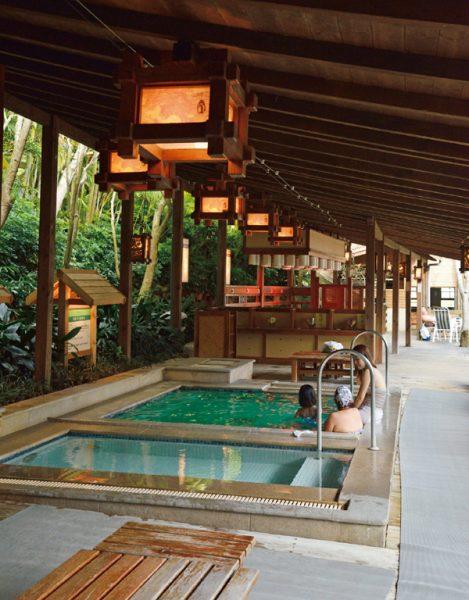錦水温泉飯店 温泉バーデ