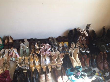 朝倉さん 靴