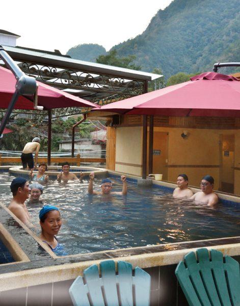 谷関温泉 屋外温泉